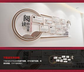 中式校园名人名言走廊文化墙