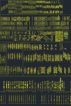 楼梯设计CAD图库