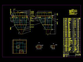 大料仓图纸机械CAD图纸