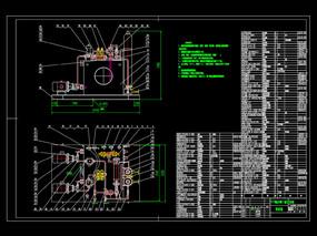 高炉槽下液压系统CAD机械图纸