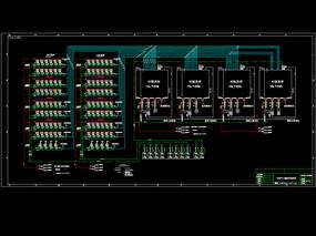工程气力输灰系统CAD机械图纸