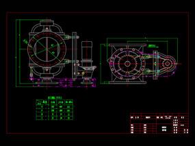 供料器机械CAD图纸