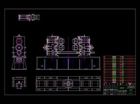 工业CAD机械图纸