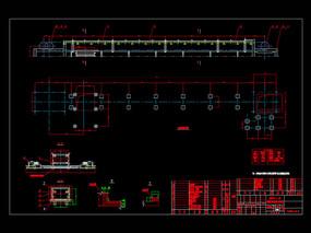 刮板机CAD机械图纸