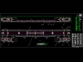 刮板输送机CAD机械图纸