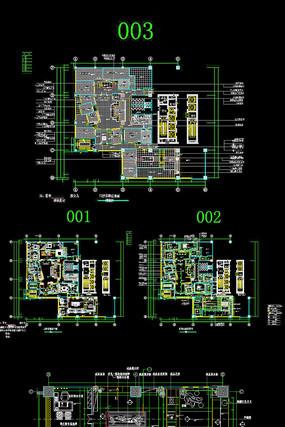 CAD展厅家内装饰设计