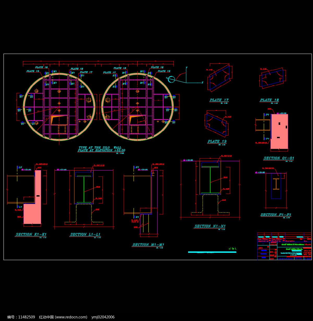 机械效果CAD机械图纸图片
