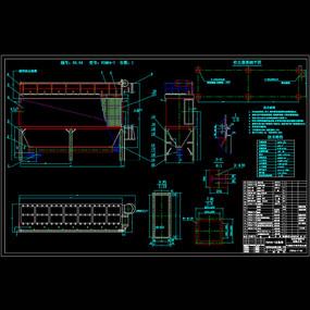 气箱脉冲袋机械CAD图纸