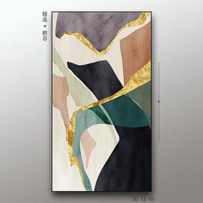 北欧简约抽象几何图形装饰画