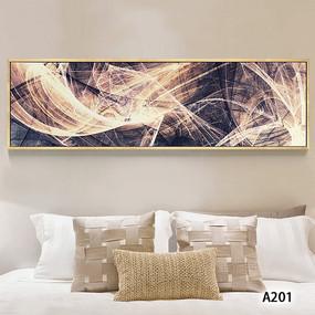 现代简约抽象线条艺术床头装饰画