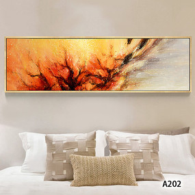 现代简约抽象艺术床头装饰画