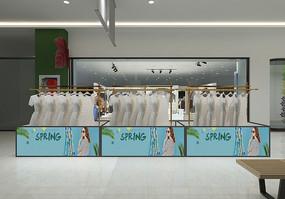 商场服装店模型