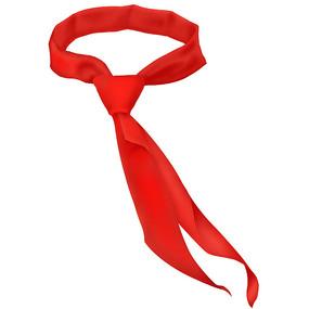 建党节建军节红领巾素材