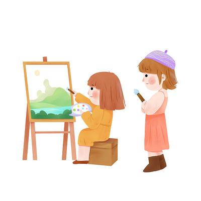 美术培训儿童画画