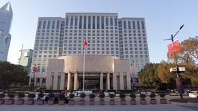 上海市政府4K实拍视频素材