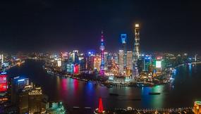 上海最新外滩陆家嘴三件套4K延时合集