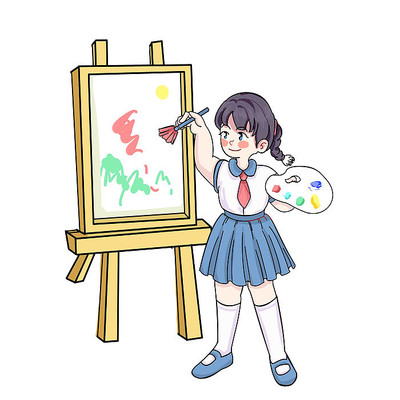 少儿美术画画艺术兴趣班