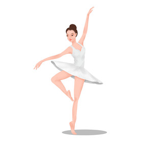 舞蹈班跳舞女生