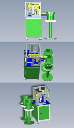 基于马赫原理自动振动喂料机UG设计