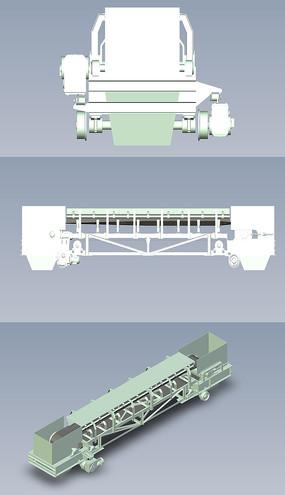 颗粒皮带输送机UG设计