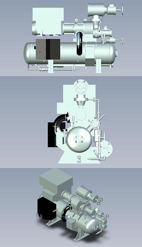 螺杆式压缩机UG模型