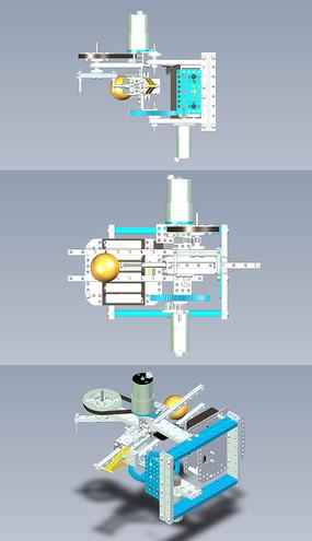 乒乓球发射装置UG设计