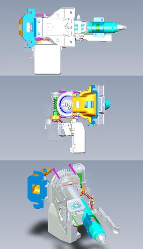 汽车方向盘助力器UG设计
