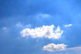 唯美蓝天白云