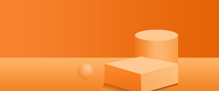 电商橙黄色活动轮播图