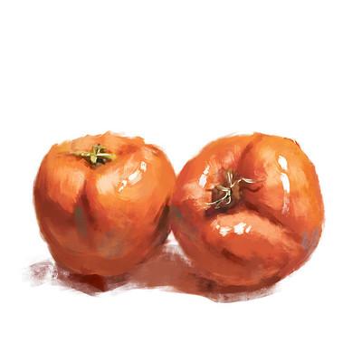 秋天的柿子
