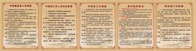 中医中药管理制度展板设计