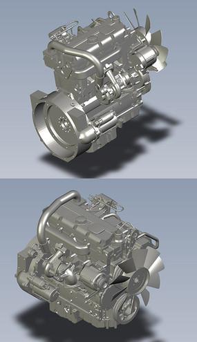发动机珀金斯机械模型