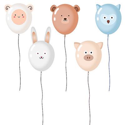 卡通动物气球