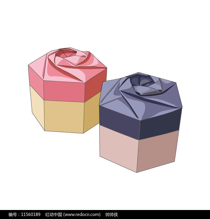 卡通礼盒元素图片