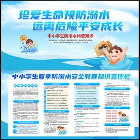 中小学生防溺水安全知识宣传栏