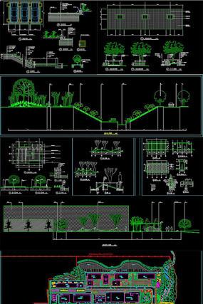 某厂区景观绿化工程施工图