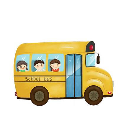 校车毕业季开学季
