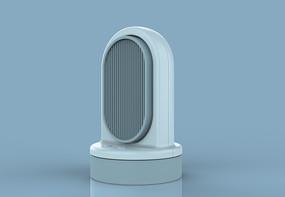 夏天小风扇桌面风扇3D模型