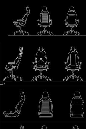座椅CAD图纸