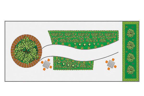 小区花园平面图