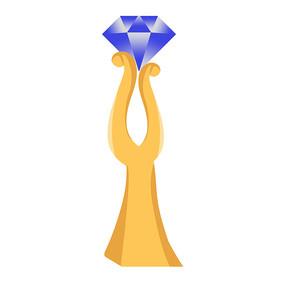 比赛钻石奖杯