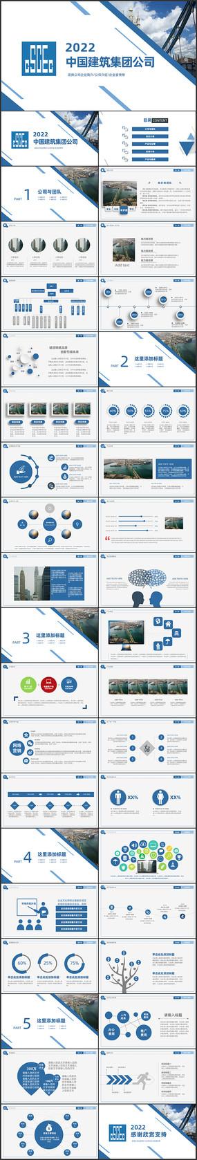 城市规划招商引资城市建筑设计PPT
