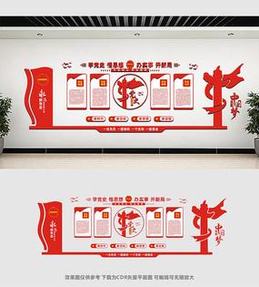建党100周年展板文化墙