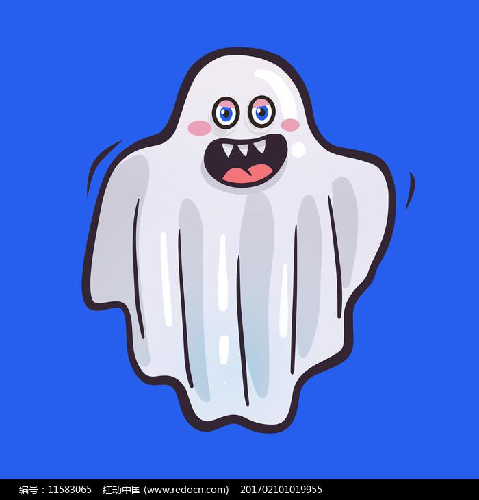 幽灵中元节图片