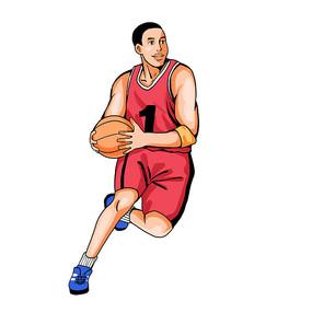 奥运会打篮球的人