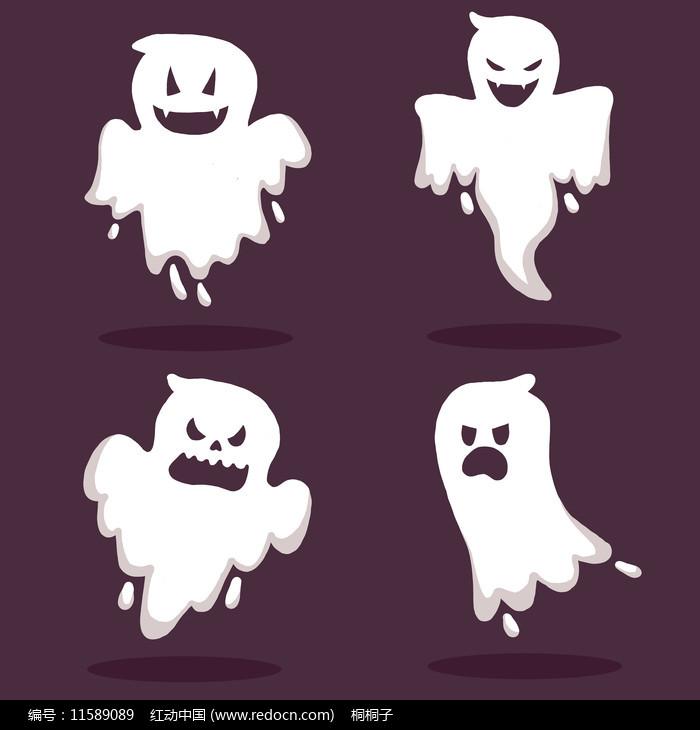 原创中元节幽灵图片