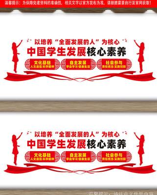 中国学生发展核心素养文化墙