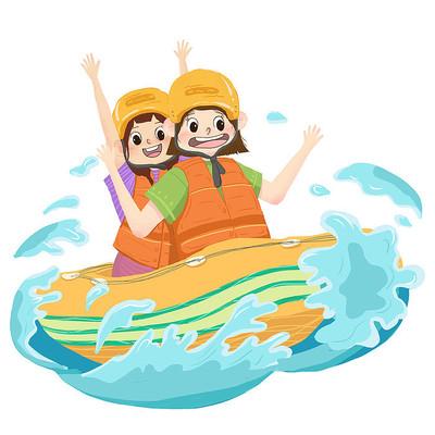 夏季漂流运动