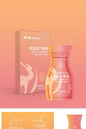 女性减肥产品便携产品包装