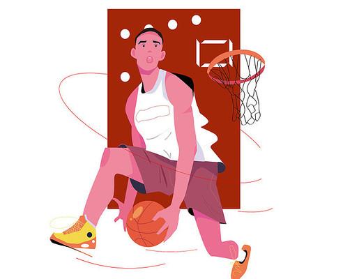 高中帅小伙打篮球胯下运球ai